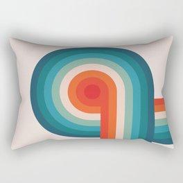Retro Turn Rectangular Pillow