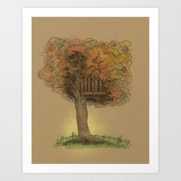Another Autumn Art Print