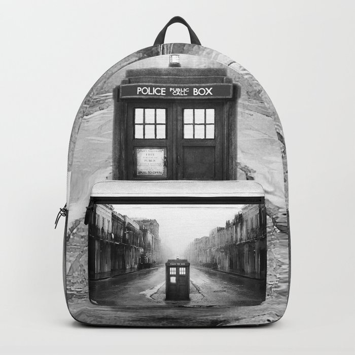 Tardis And The Old City Rucksack