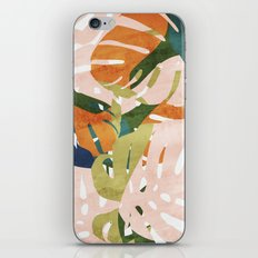 Monstera delight iPhone Skin