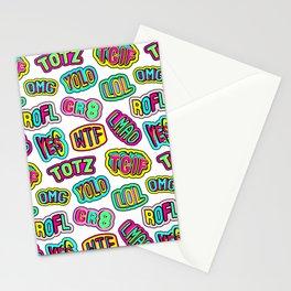 Patch pattern #1 Stationery Cards