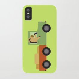 Horse on Truck iPhone Case