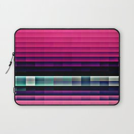 Hot Pink Pixels Laptop Sleeve