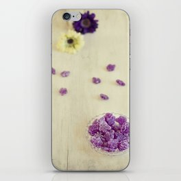 Violet sweets iPhone Skin