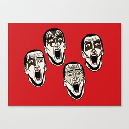 Kiss Cage Canvas Print