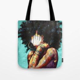 Naturally II TEAL Tote Bag