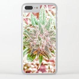 Flower Star Blooming Bud Indoor Hydro Grow Room Top Shelf Clear iPhone Case