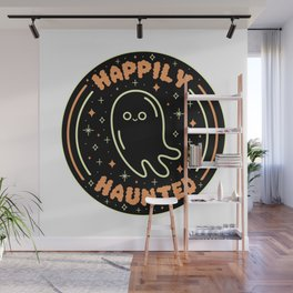 Happily Haunted Wall Mural