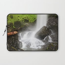 Pacific Northwest Adventure - Long Exposure Waterfall | Silver Falls Laptop Sleeve