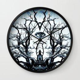 Tree of Life Archetype Religious Symmetry Wall Clock