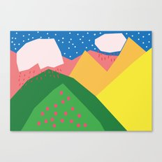 Them Rolling Hills Canvas Print