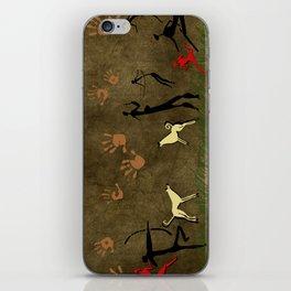 Cavemen Wall iPhone Skin