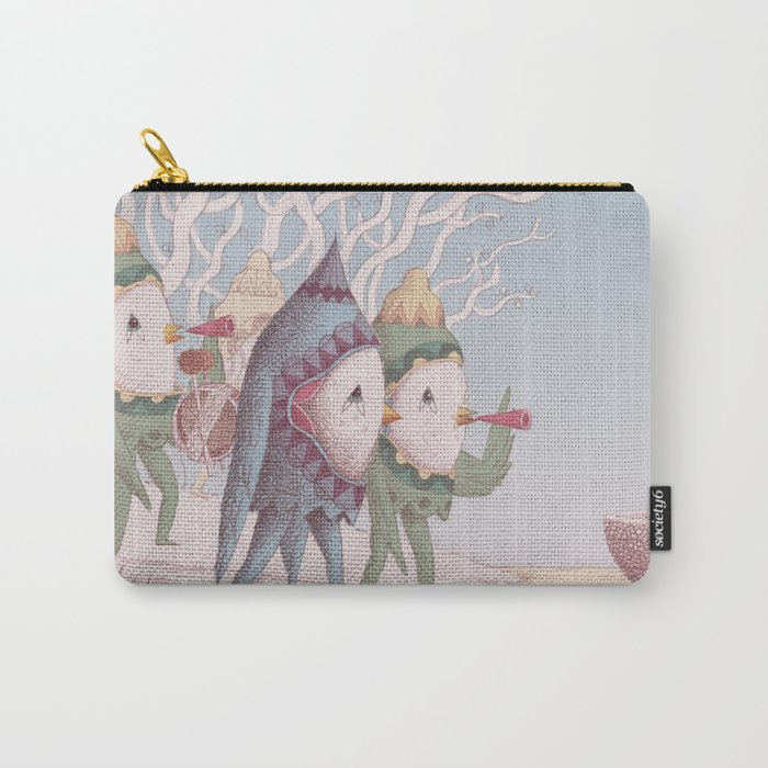 Drummer Bird Leaving Carry-All Pouch