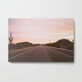 Take the Long Way Home Metal Print
