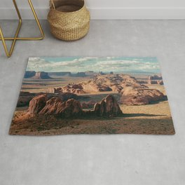 Monument Valley Overview Rug