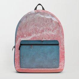 Bahamas pink blue Backpack
