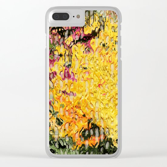 Splat! Clear iPhone Case