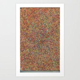 zooming Art Print