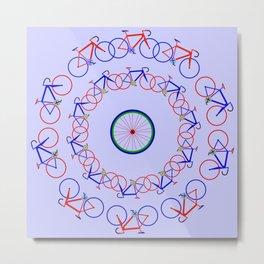 Bike Giro Metal Print