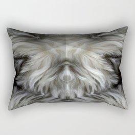 The Grey Witch Rectangular Pillow