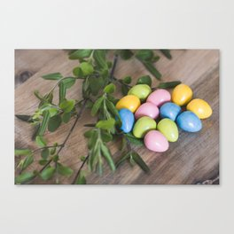 Easter Eggs 20 Canvas Print