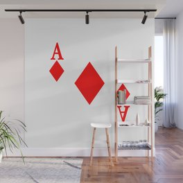 Ace of Diamonds Wall Mural
