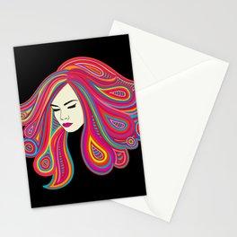 Psych Girl Stationery Cards