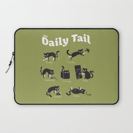 The Daily Tail Cat Laptop Sleeve