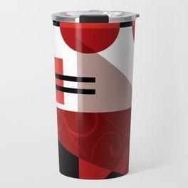 AZTEC DESERT | red Travel Mug