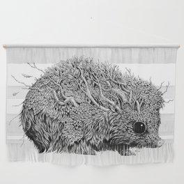 Leaf Hedgehog Wall Hanging