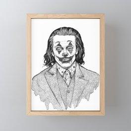 Joker - Fanart Framed Mini Art Print