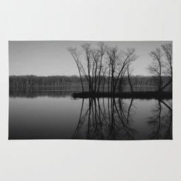 Mississippi mirror Rug