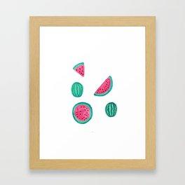 Melons Framed Art Print