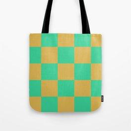 retro chess pattern Madremonte Tote Bag