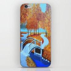 Autumn landscape 5 iPhone & iPod Skin