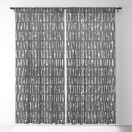 rhythm 3.5 Sheer Curtain