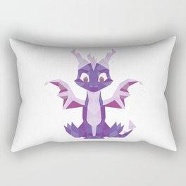 Spyro the dragon Lowpoly Rectangular Pillow