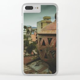 Kathmandu City Roof Tops - Architecture 04 Clear iPhone Case