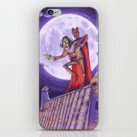 dracula iPhone & iPod Skins featuring Dracula by cheesecake