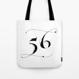 Fifty Six Tote Bag