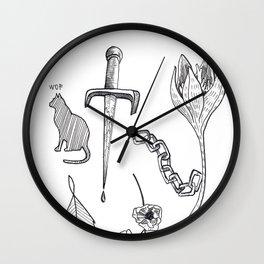 Tatts Wall Clock