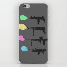 Bubble Guns iPhone & iPod Skin