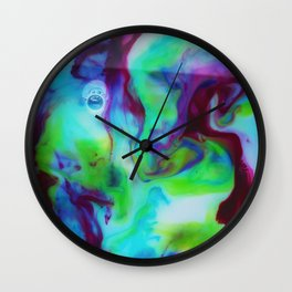 The Art of Reaction/// The Mix Wall Clock