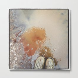 Rain Storm Metal Print