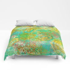 Paisleys and Blooms Comforters