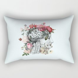 Beautiful Brain Rectangular Pillow