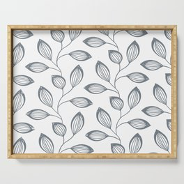 Climbing Leaves Repeat Pattern Serving Tray