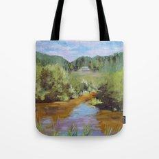 Walk The Lake Tote Bag