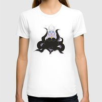 ursula T-shirts featuring Kokeshi Sea witch by Pendientera