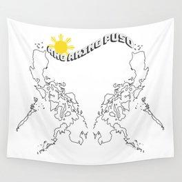 Ang Aking Puso (My Heart) Wall Tapestry